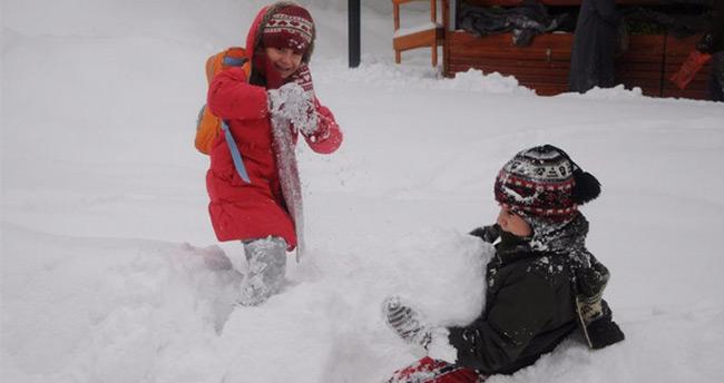 Beyşehir'de okullara kar tatili – 28 Aralık Beyşehir Kar Tatili