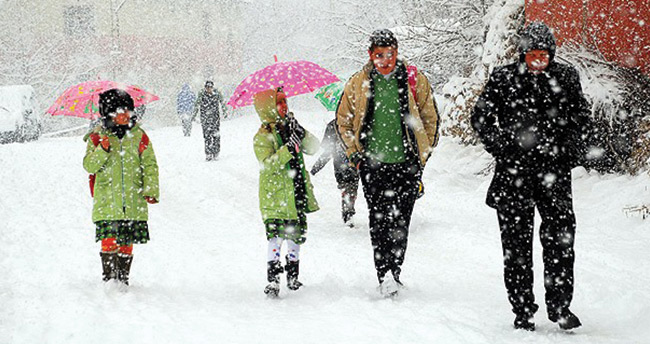 Balıkesir'de eğitim kar engenli – 30 Aralık Balıkesir kar tatili
