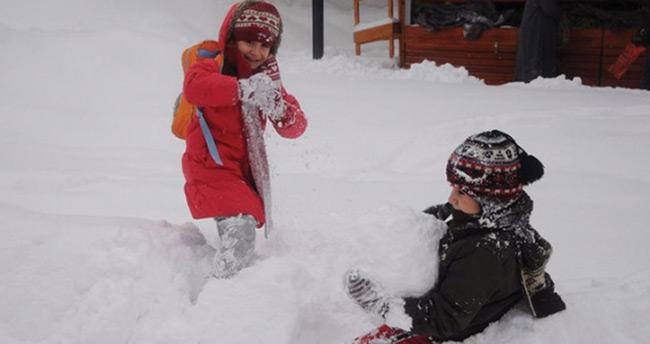 Konya'da eğitime kar engeli – 30 Aralık Konya kar tatili