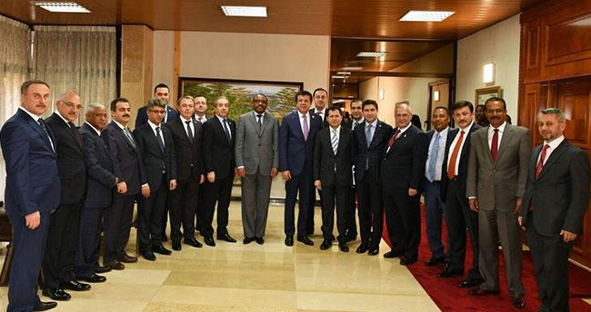 Altunyaldız'dan Etiyopya ve Cibuti'ye ziyaret