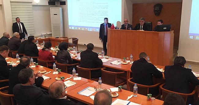 Ereğli Belediyesi, 2017 yılının ilk meclis toplantısı yaptı