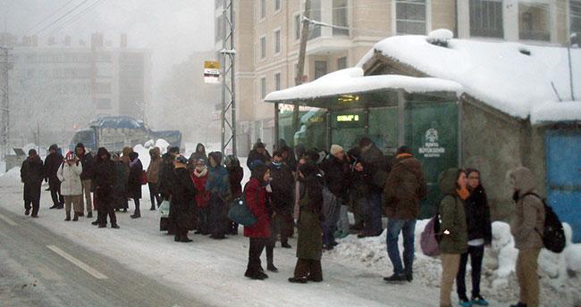 Konya'da vatandaşın ulaşım çilesi