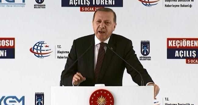 Cumhurbaşkanı Erdoğan'dan çarpıcı açıklama