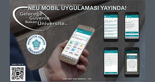 Necmettin Erbakan Üniversitesi'nin Mobil Uygulaması yayında