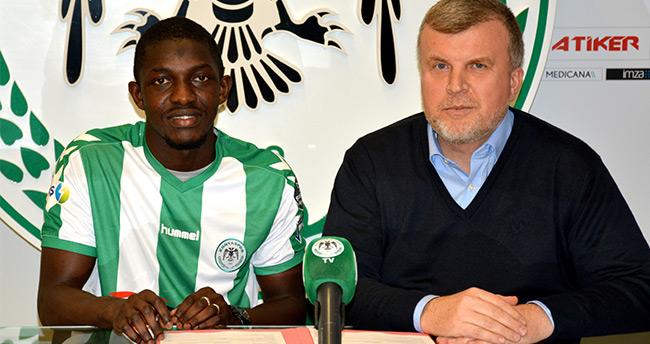 Konyaspor, Fofana ile 2,5 yıllık sözleşme imzaladı