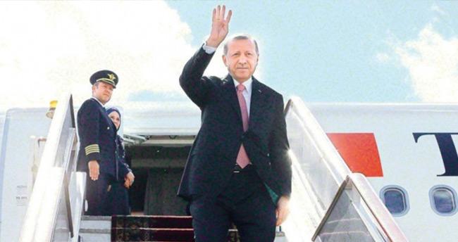Cumhurbaşkanı Erdoğan bu 3 ülkeye ilk kez gidecek!