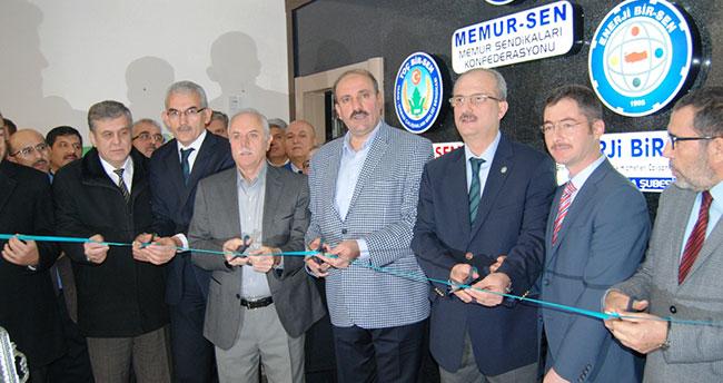 TOÇ BİR-SEN yeni hizmet ofisi açıldı