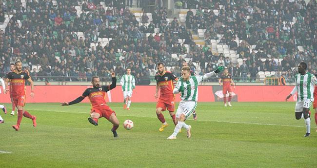 Atiker Konyaspor: 1 – Kızılcabölükspor: 0