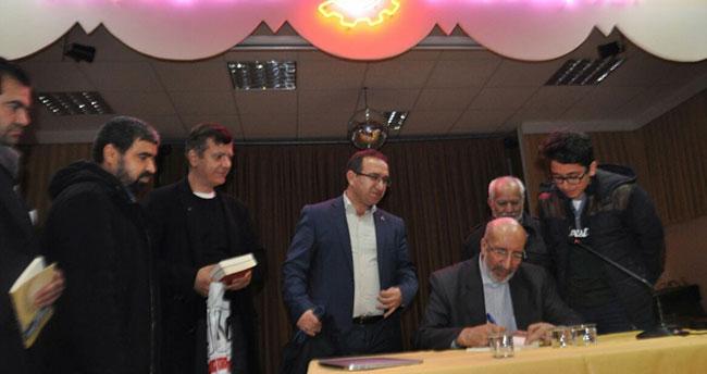 Yazar Dilipak, Seydişehir'de konferans verdi
