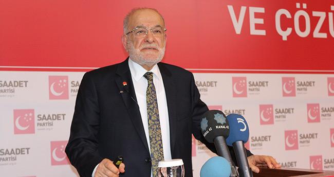 Saadet Partisi lideri Karamollaoğlu Konya'da