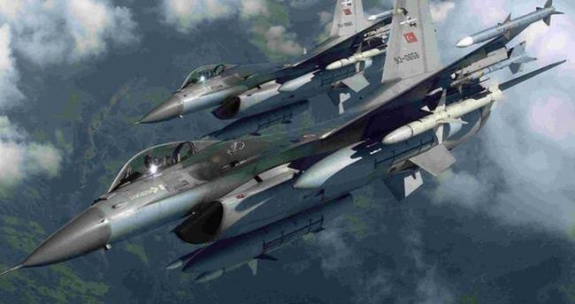 Türk ve Rus jetleri birlikte bombaladı!