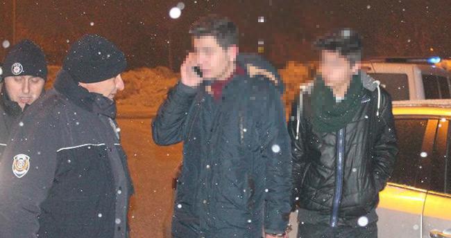 Konya'da 16 yaşındaki sürücü polisten kaçarken kaza yaptı
