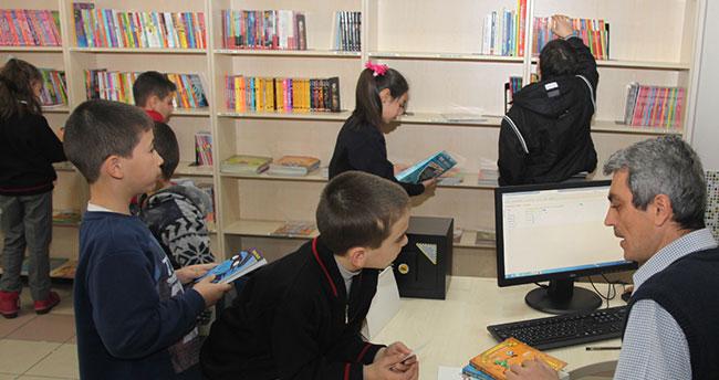 Selçuklu'da kütüphaneler tatilde de açık