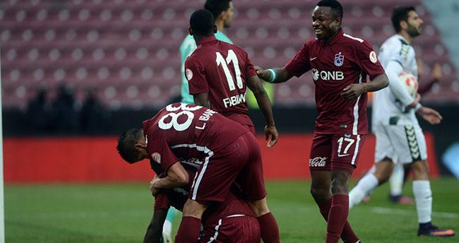 Trabzonspor 1-Konyaspor 0 ( İlk Yarı )