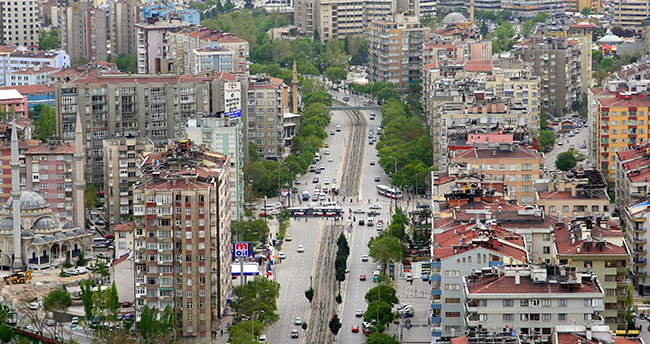 Konya'da bazı dönüşler kapatıldı