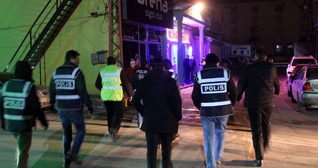 Konya'da bin polisli 'huzur' uygulaması