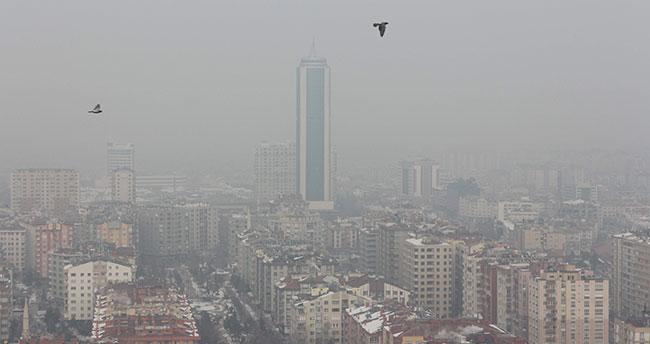 Konya'da hava sıcaklıkları mevsim normallerinin altında seyrediyor
