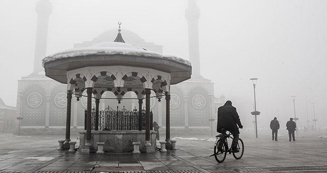 Konya'da bugün hava nasıl olacak-30 Ocak hava durumu