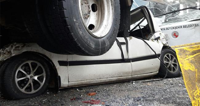 Konya'daki kazada 38 kişi yaralandı