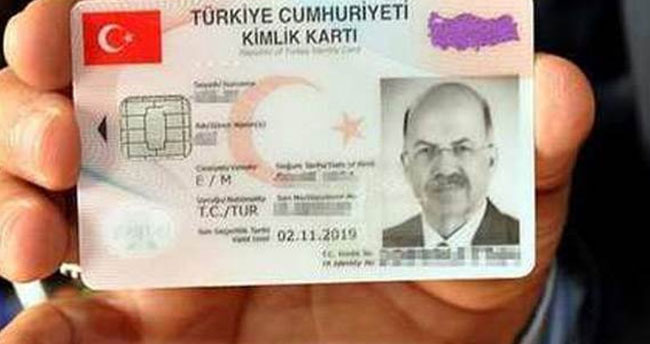Yeni kimlik kartını kaybeden 30 lira ödeyecek