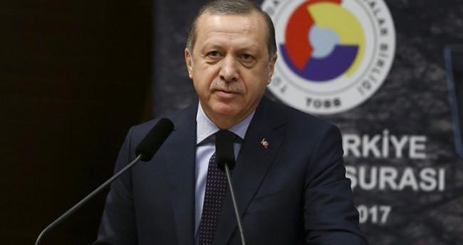 Erdoğan'dan işadamına: Benimle pazarlık yapma