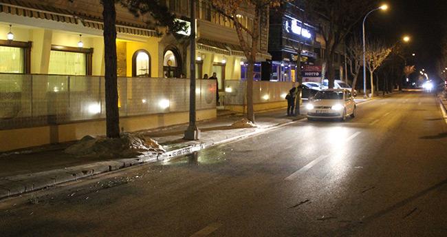 Konya'da restorantta silahlı kavga