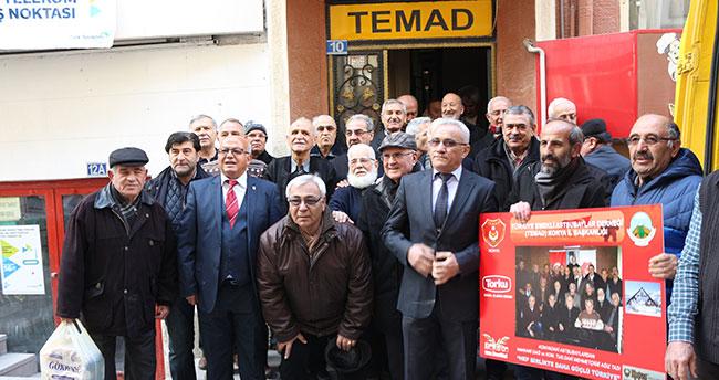 TEMAD Konya'dan Hakkari'deki komandolara hediye