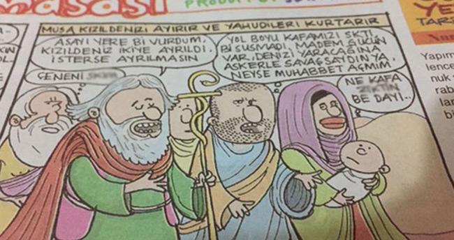 Gırgır'dan Hz. Musa'ya hakaret