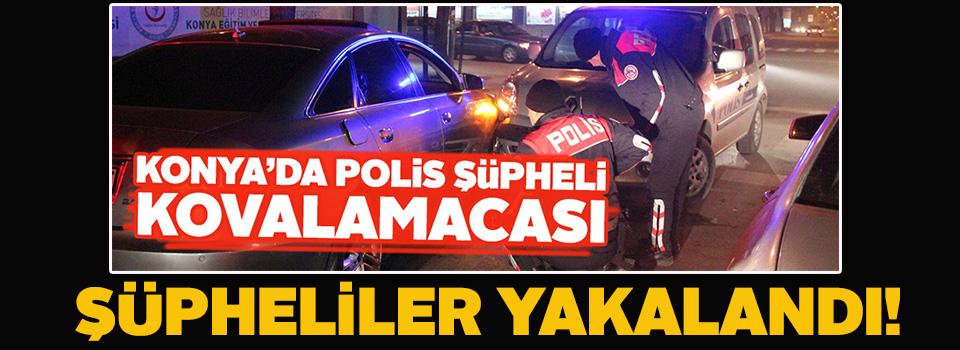 Konya'daki bıçaklı kavgaya karışan şüpheliler yakalandı
