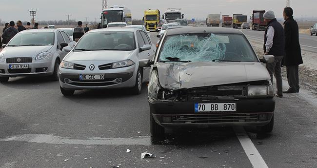 Otomobilin çarptığı sağlık görevlisi hayatını kaybetti