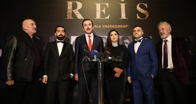 'Reis' filminin galası gerçekleştirildi