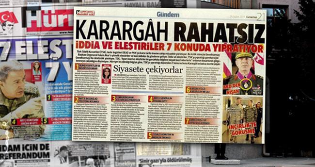 Hürriyet'in '28 Şubat' manşetine soruşturma