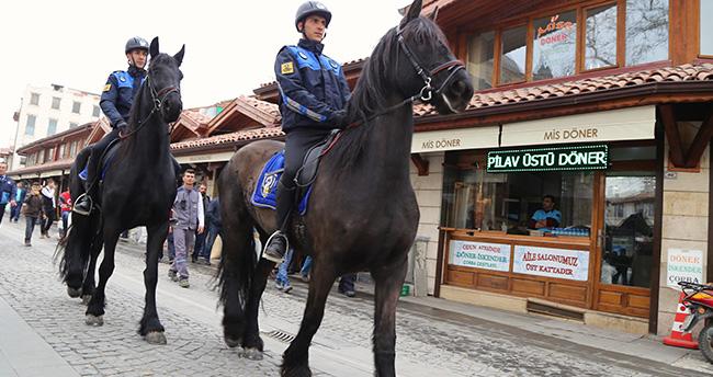 Konya'da atlı zabıta dönemi