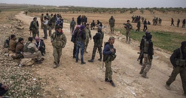 YPG ile şiddetli çatışma! Çoğu ele geçirildi