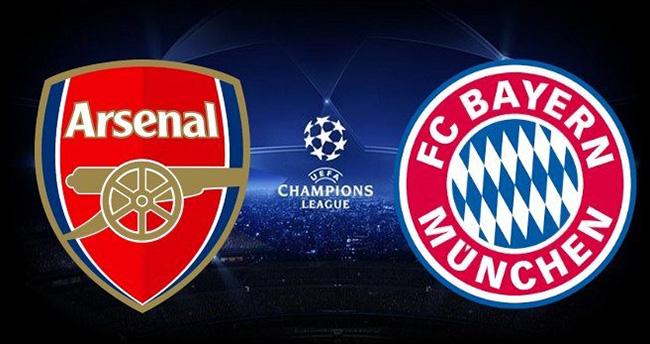 Arsenal-Bayern Münih maçı saat kaçta hangi kanalda?