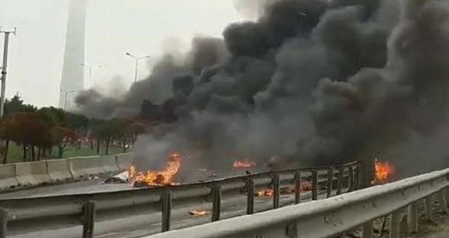 İstanbul'daki helikopter kazasında 5 kişi öldü
