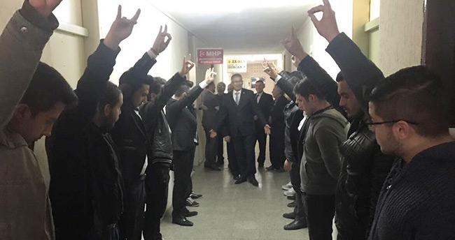 Konya Ülkü Ocaklarından, AK Partililerin Bozkurt selamıyla karşılandığı iddialarına açıklama