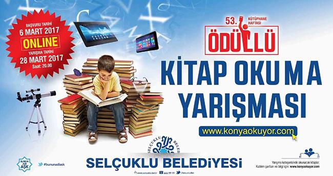 Selçuklu Belediyesi'nden online kitap okuma yarışması