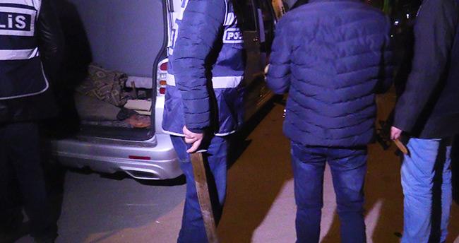 Konya Emniyet'inden 300 polisle asayiş uygulaması