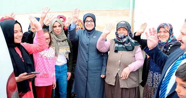 Meram'ın 9 mahallesine ziyaret