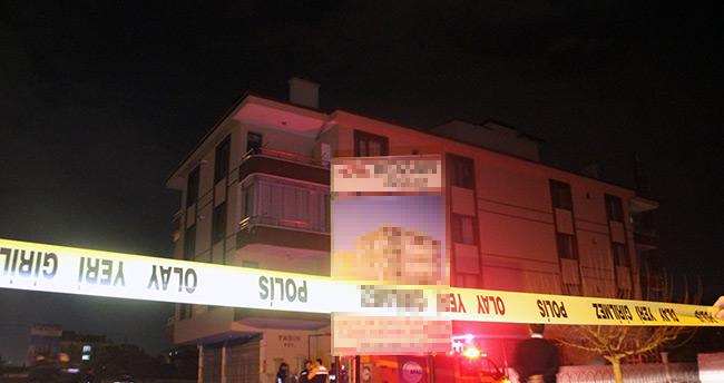 Konya'da istinat duvarı yıkıldı, 3 katlı bina boşaltıldı