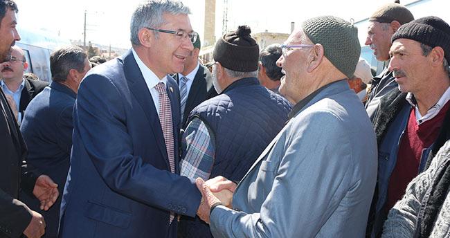 Milletvekili Babaoğlu referandum çalışmalarını sürdürüyor