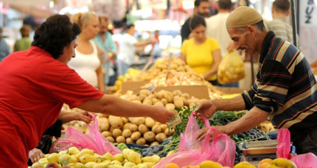 Mart ayı enflasyon rakamları açıklandı