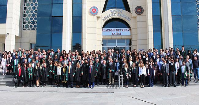 Konya Barosu tarafından Avukatlar günü töreni gerçekleştirildi