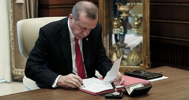 Cumhurbaşkanı Erdoğan'dan 8 kanuna onay