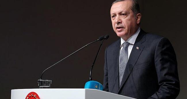 Erdoğan'dan mesaj: Gurur duyuyoruz