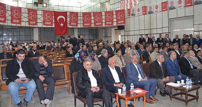 MHP Ilgın İlçe Başkanlığına Harun Ok seçildi