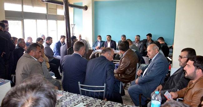 Milletvekili Ömer Ünal, referandum çalışmalarına devam ediyor