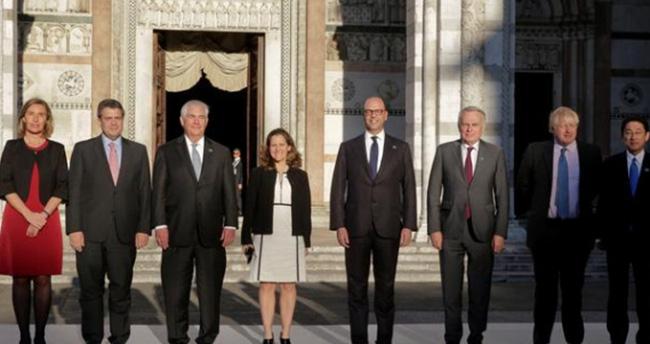 G7 ülkelerinden ortak karar: Esed olmayacak