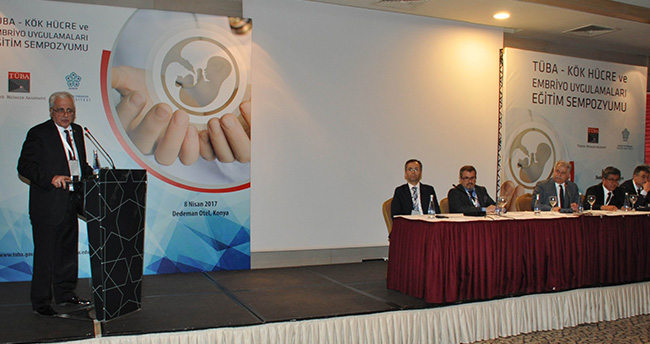 Konya'da Kök Hücre ve Embriyo Sempozyumu sona erdi